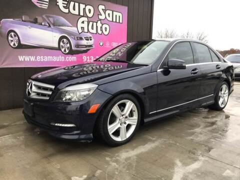 2011 Mercedes-Benz C-Class for sale at Euro Auto in Overland Park KS