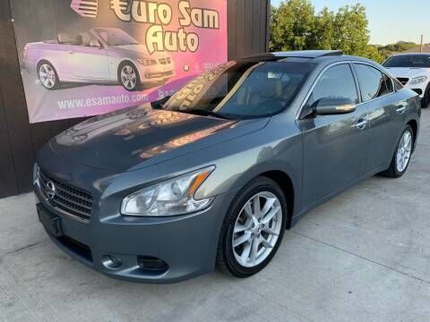 2010 Nissan Maxima for sale at Euro Auto in Overland Park KS