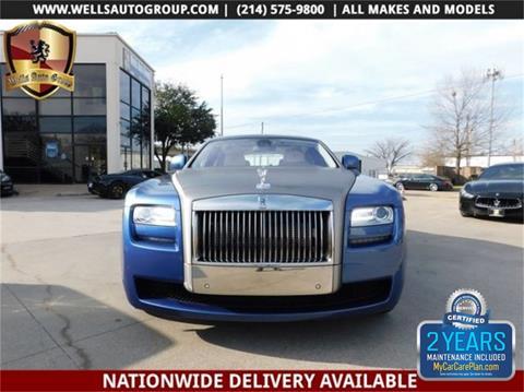 2011 Rolls-Royce Ghost for sale in Carrollton, TX