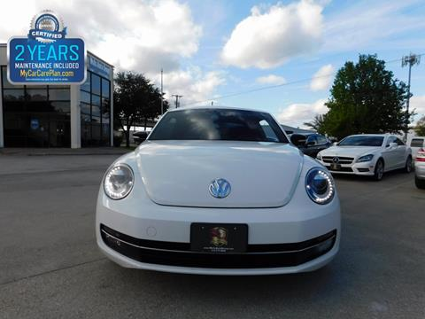 2012 volkswagen beetle for sale in texas. Black Bedroom Furniture Sets. Home Design Ideas