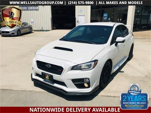 2017 Subaru WRX for sale in Carrollton, TX