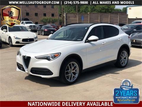 2018 Alfa Romeo Stelvio for sale in Carrollton, TX