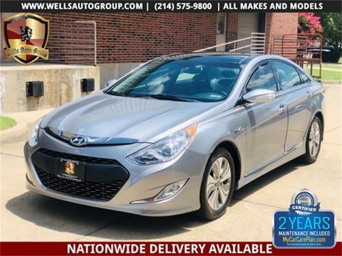 2014 Hyundai Sonata Hybrid for sale in Carrollton, TX