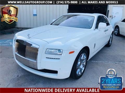 2010 Rolls-Royce Ghost for sale in Carrollton, TX