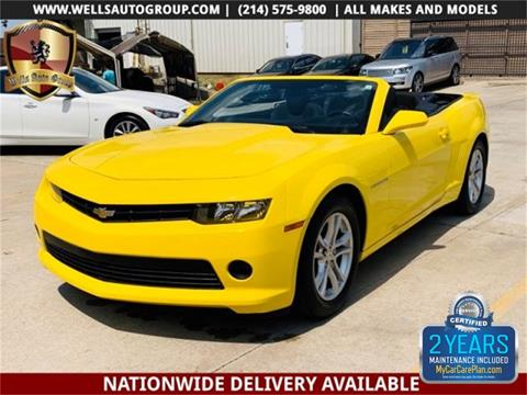 2015 Chevrolet Camaro for sale in Carrollton, TX