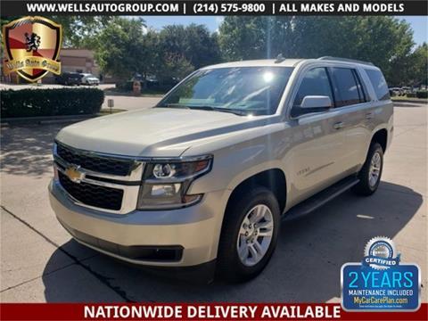 2015 Chevrolet Tahoe for sale in Carrollton, TX
