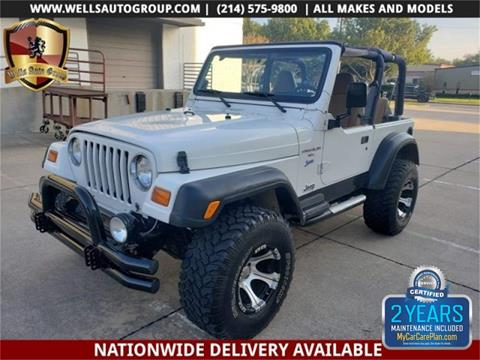 1998 Jeep Wrangler for sale in Carrollton, TX