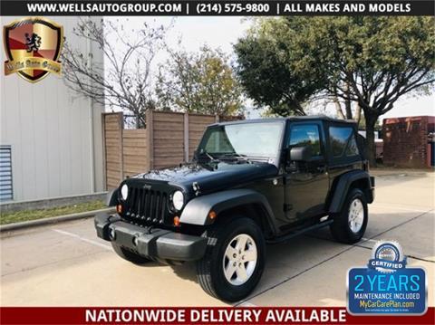 2011 Jeep Wrangler for sale in Carrollton, TX