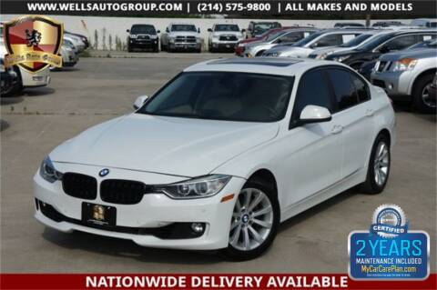 2015 BMW 3 Series 328i for sale at WELLS AUTO GROUP in Mckinney TX