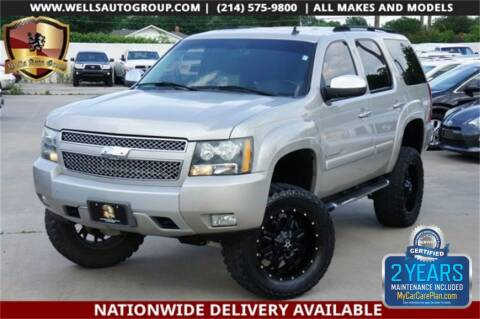 2007 Chevrolet Tahoe LTZ for sale at WELLS AUTO GROUP in Mckinney TX