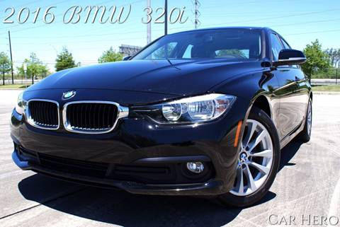2016 BMW 3 Series for sale at CAR HERO LLC in Houston TX