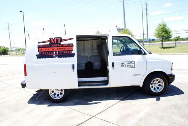 2002 Chevrolet Astro Cargo for sale at CAR HERO LLC in Houston TX