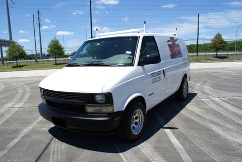 2002 Chevrolet Astro Cargo for sale at CAR HERO LLC in Houston TX