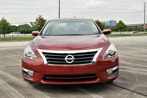 2013 Nissan Altima for sale at CAR HERO LLC in Houston TX