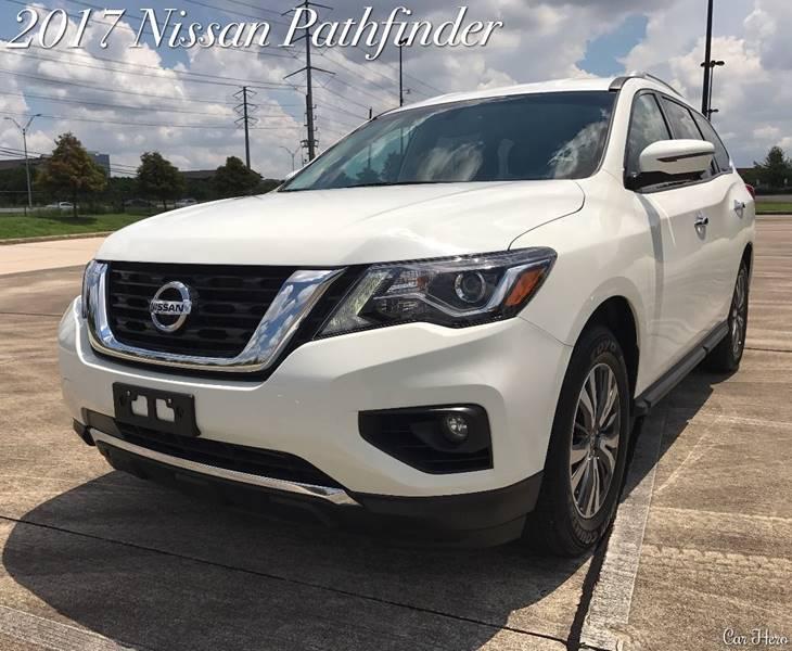 2017 Nissan Pathfinder for sale at CAR HERO LLC in Houston TX