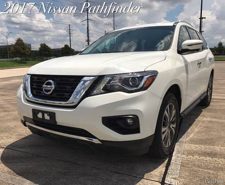 2017 Nissan Pathfinder for sale at CAR HERO LLC in Houston TX