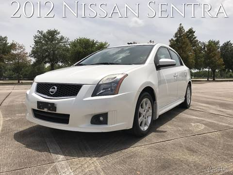 2012 Nissan Sentra for sale at CAR HERO LLC in Houston TX