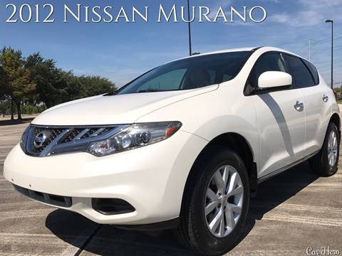 2012 Nissan Murano for sale at CAR HERO LLC in Houston TX