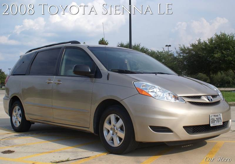 2008 Toyota Sienna for sale at CAR HERO LLC in Houston TX