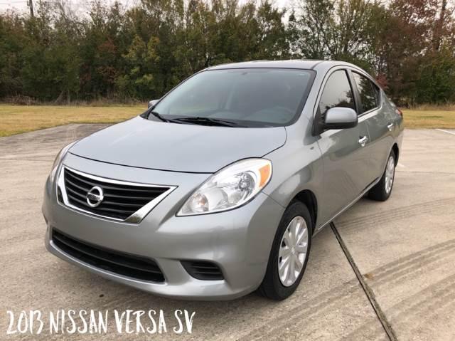 2013 Nissan Versa For Sale At CAR HERO LLC In Houston TX