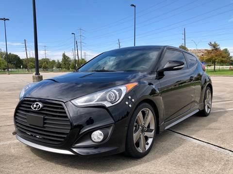 2013 Hyundai Veloster Turbo for sale in Houston, TX