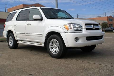 2006 Toyota Sequoia for sale at CAR HERO LLC in Houston TX