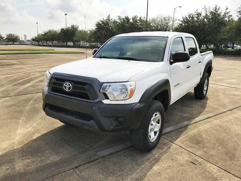 2012 Toyota Tacoma for sale at CAR HERO LLC in Houston TX