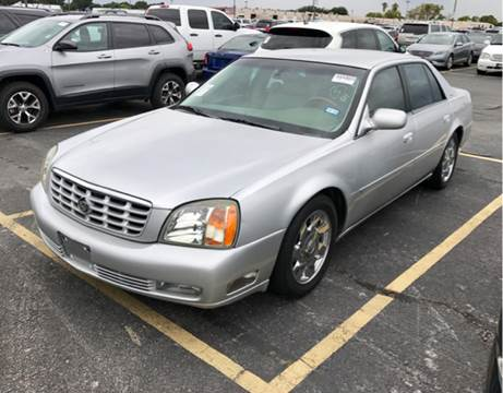 2002 Cadillac DeVille for sale at CAR HERO LLC in Houston TX