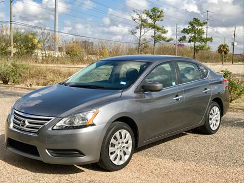 2015 Nissan Sentra for sale at CAR HERO LLC in Houston TX