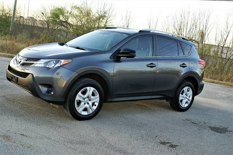 2013 Toyota RAV4 for sale at CAR HERO LLC in Houston TX