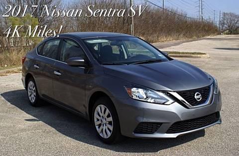 2017 Nissan Sentra for sale at CAR HERO LLC in Houston TX
