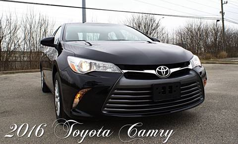 2016 Toyota Camry for sale at CAR HERO LLC in Houston TX
