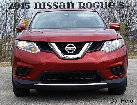 2015 Nissan Rogue for sale at CAR HERO LLC in Houston TX