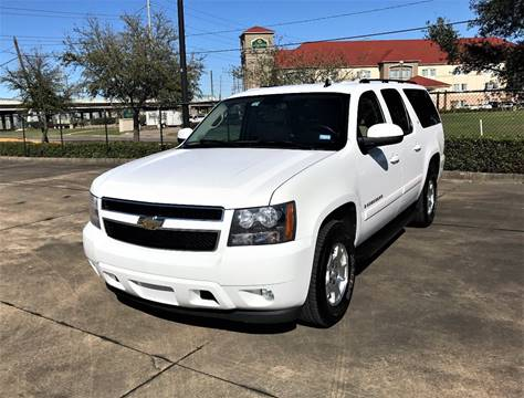 2008 Chevrolet Suburban for sale at CAR HERO LLC in Houston TX