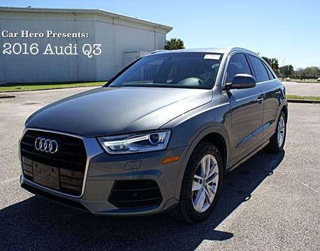 Audi Q3 For Sale in Houston, TX - CAR HERO LLC