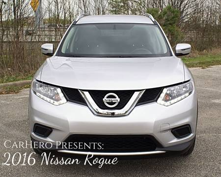 2016 Nissan Rogue for sale at CAR HERO LLC in Houston TX
