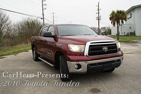 2010 Toyota Tundra for sale at CAR HERO LLC in Houston TX