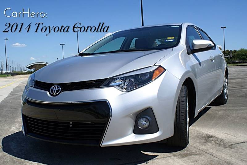 2014 Toyota Corolla for sale at CAR HERO LLC in Houston TX
