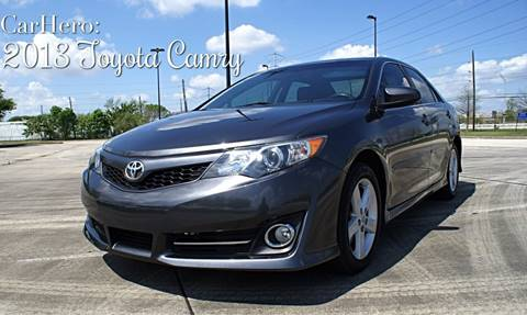 2013 Toyota Camry for sale at CAR HERO LLC in Houston TX