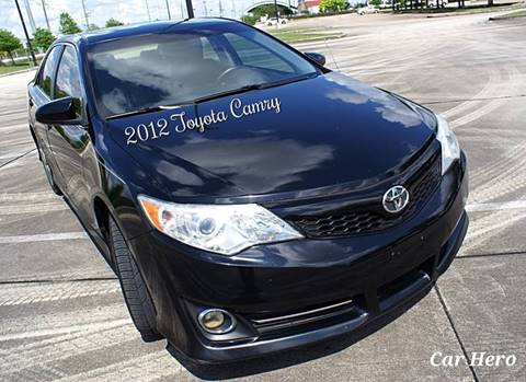 2012 Toyota Camry for sale at CAR HERO LLC in Houston TX
