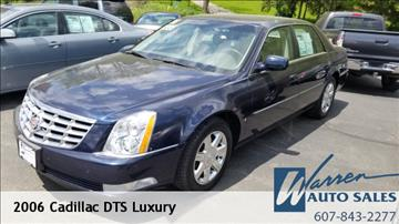2006 Cadillac DTS for sale in Oxford, NY