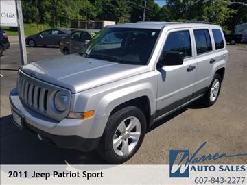2011 Jeep Patriot for sale in Oxford, NY