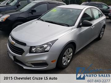 2015 Chevrolet Cruze for sale in Oxford, NY