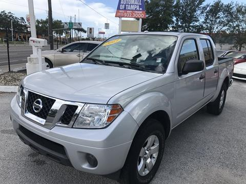 2013 Nissan Frontier for sale in Tampa FL