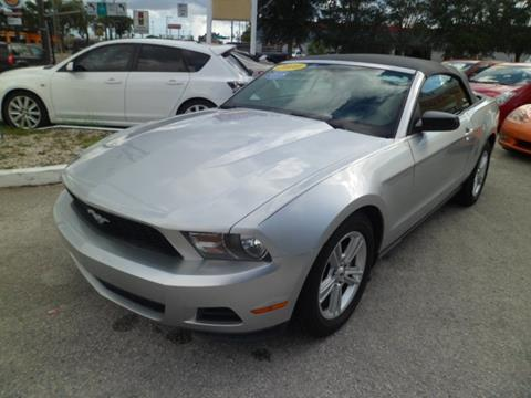 2010 Ford Mustang for sale in Tampa FL