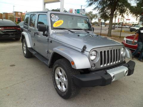 2014 Jeep Wrangler Unlimited for sale in Tampa FL
