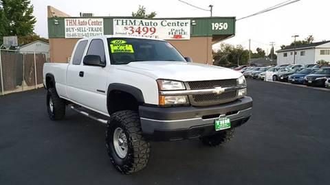 Used Chevy Silverado 2500 >> Chevrolet Silverado 2500hd For Sale In Sacramento Ca Thm