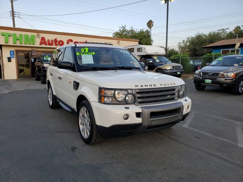 Land Rover Sacramento >> 2007 Land Rover Range Rover Sport Hse 4dr Suv 4wd In Sacramento Ca