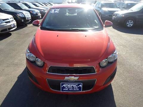 2012 Chevrolet Sonic for sale in South Sioux City, NE