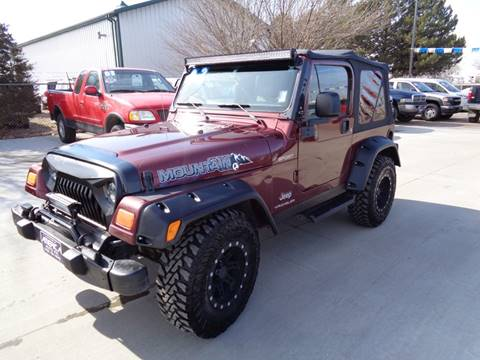 2003 Jeep Wrangler Sport for sale at America Auto Inc in South Sioux City NE